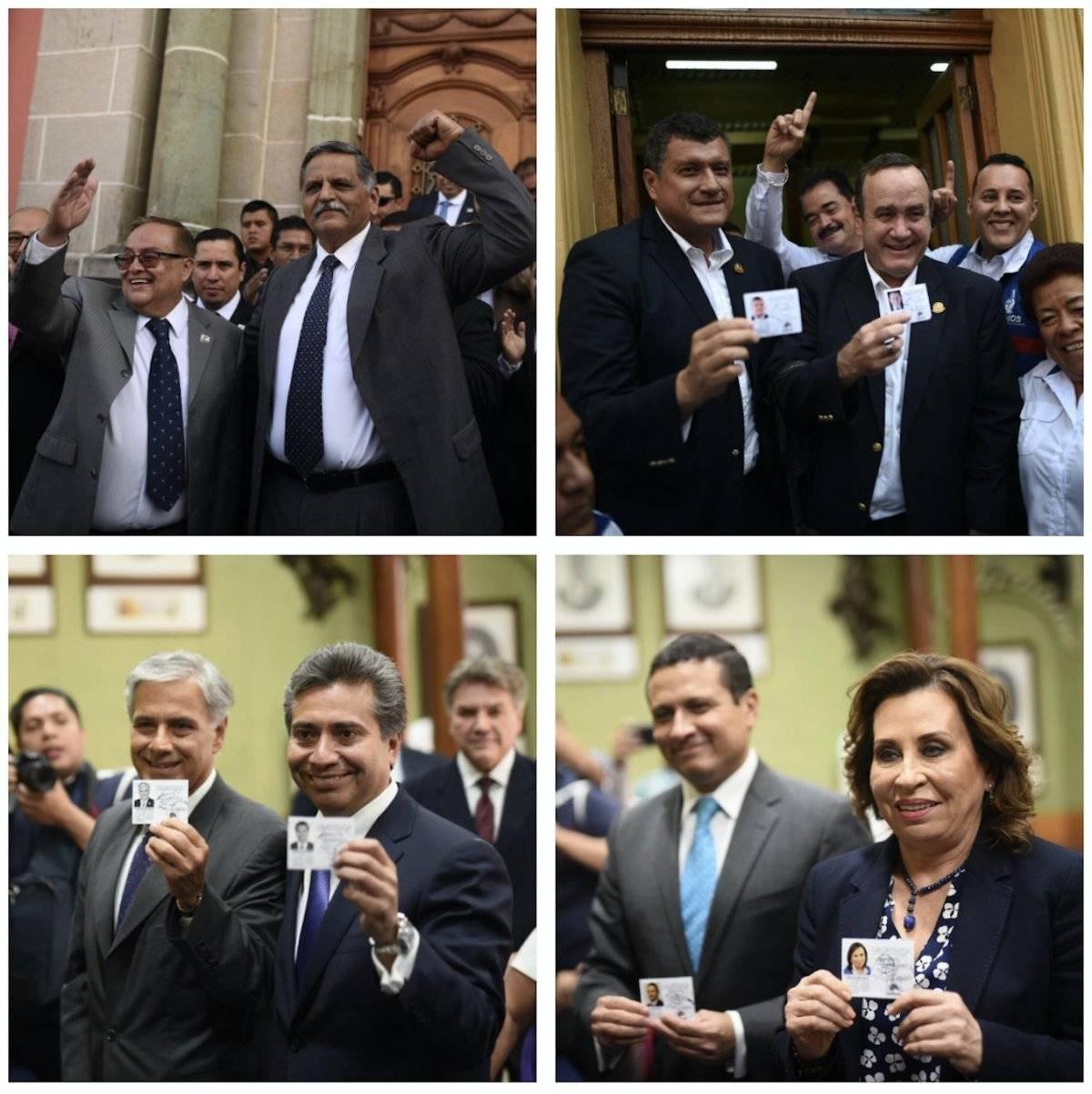 Binomios presidenciales