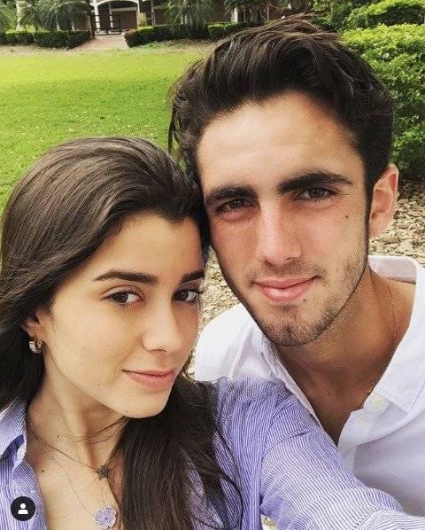 Ella es la novia de Leonardo Campana, el goleador del Sudamericano Sub 20 Instagram