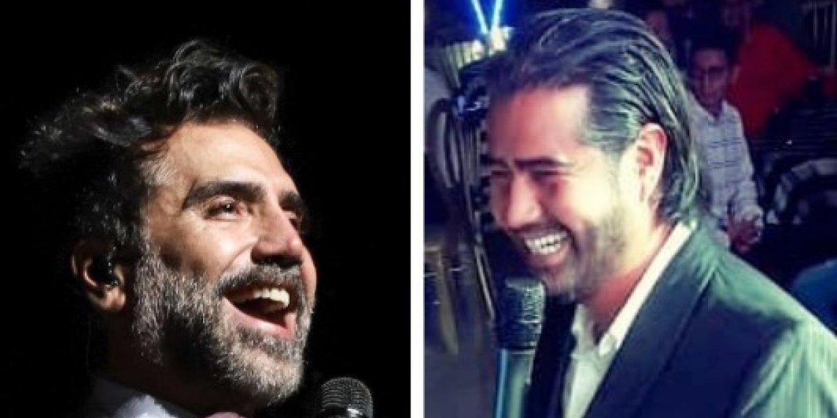 ¡Duelo de Potrillos! Alejandro Fernández va contra su imitador