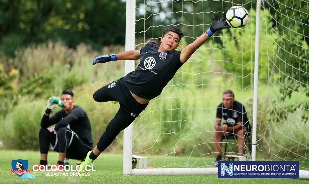 Julio Fierro irá al Sudamericano Sub 17 / imagen: colocolo.cl