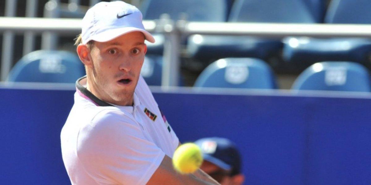 Jarry acusó el esfuerzo de la Davis y quedó eliminado en su debut en el ATP 250 de Córdoba