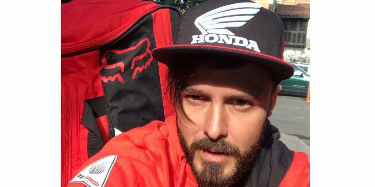 Tatán Mejía revela cuántas veces se ha fracturado haciendo motocross