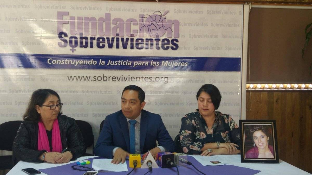 Conferencia de prensa sobre el caso Siekavizza