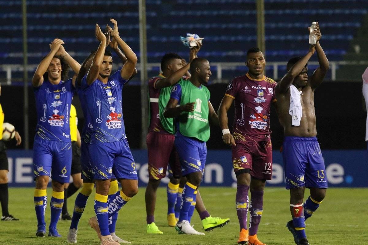 Delfín de Manta vs Caracas FC