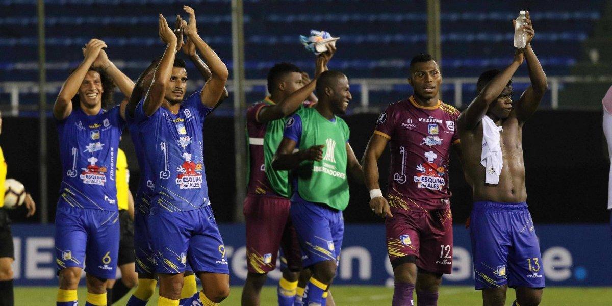 Delfín de Manta se enfrenta a Caracas FC por la Copa Libertadores