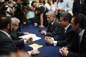 Freddy Cabrera y Ricardo Sagastume
