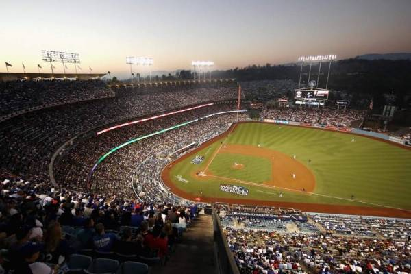 estadio beisebol baseball dodgers los angeles