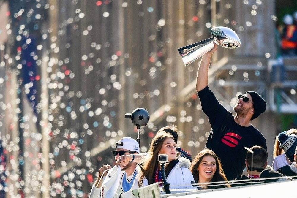 Tom Brady fue de los más aclamados. / Getty Images