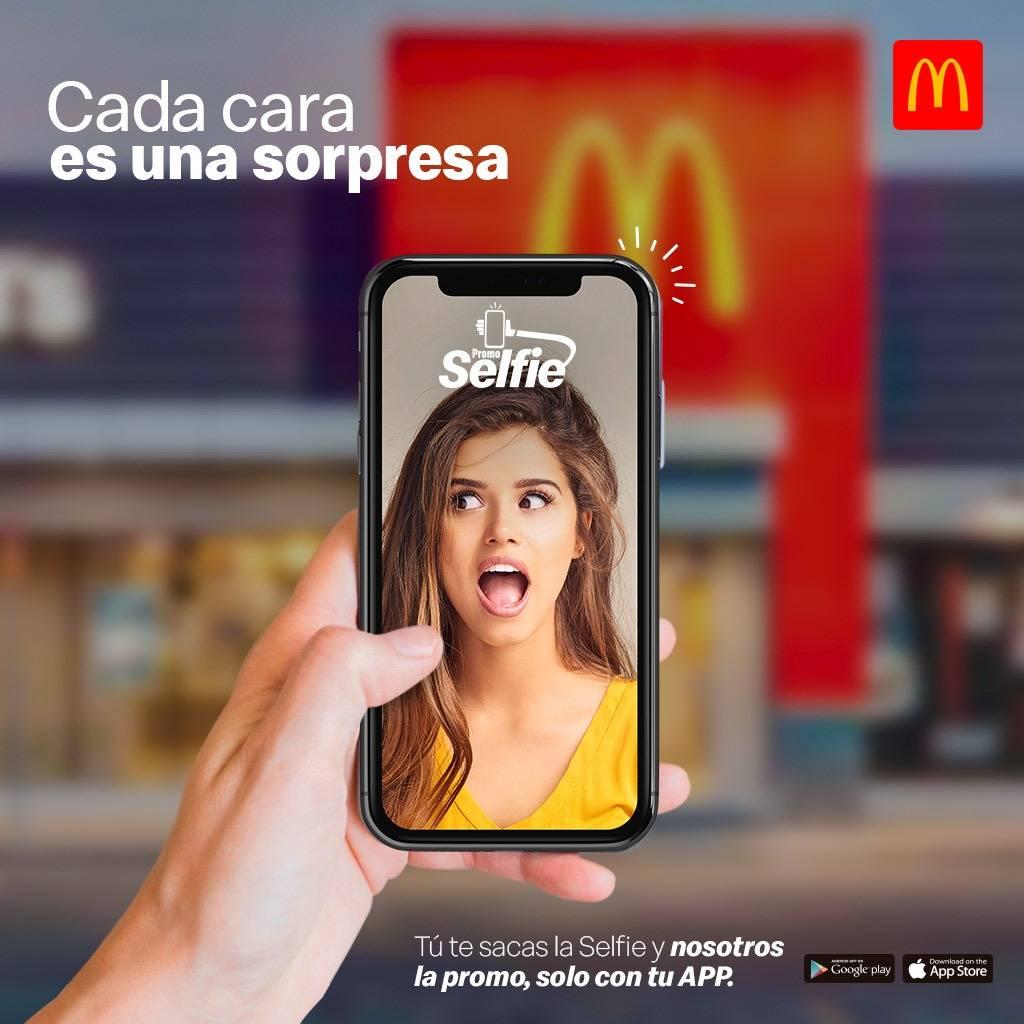 promo selfie mcdonalds