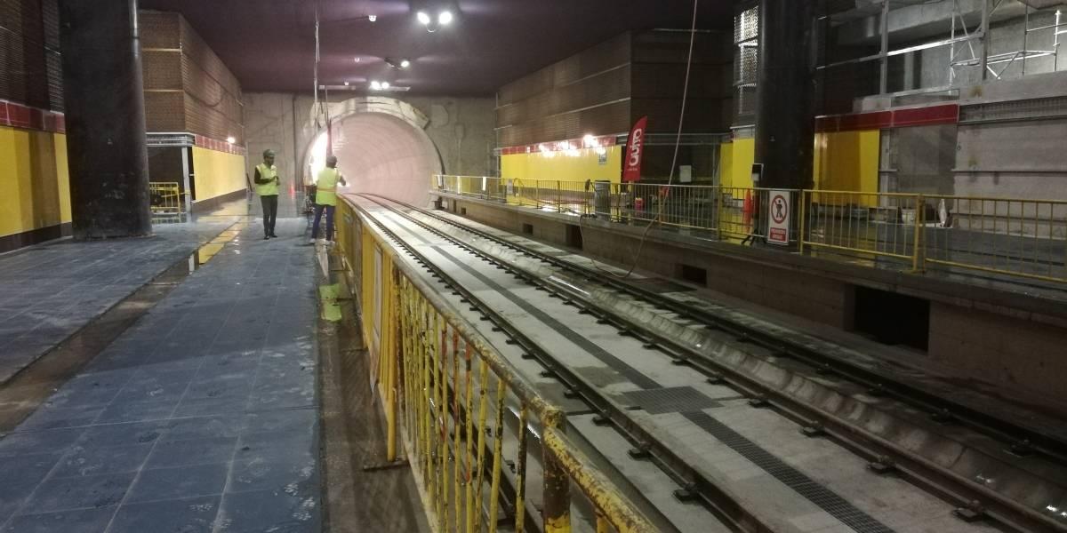 Paradas del Metro de Quito serán resistentes a actos vandálicos