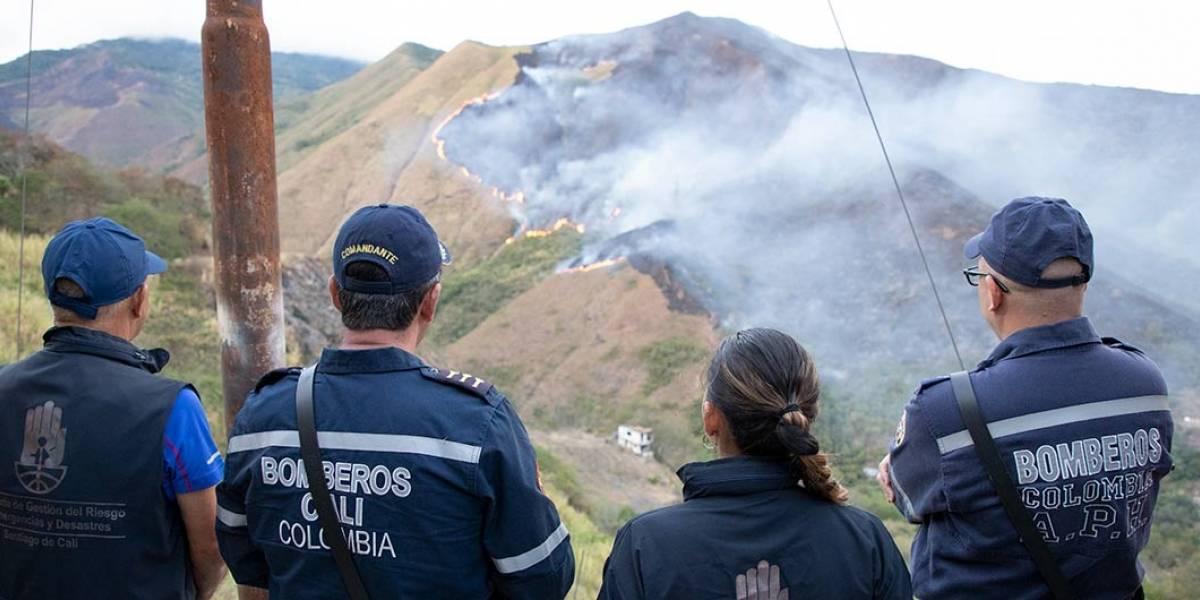 La Castilla: tres días con la montaña en llamas