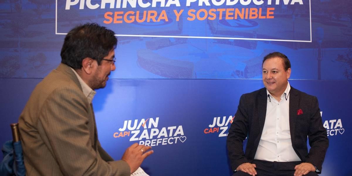 Elecciones 2019: Juan Zapata y su plan de trabajo por Pichincha