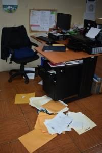 Fotos de oficinas de diputados forzadas