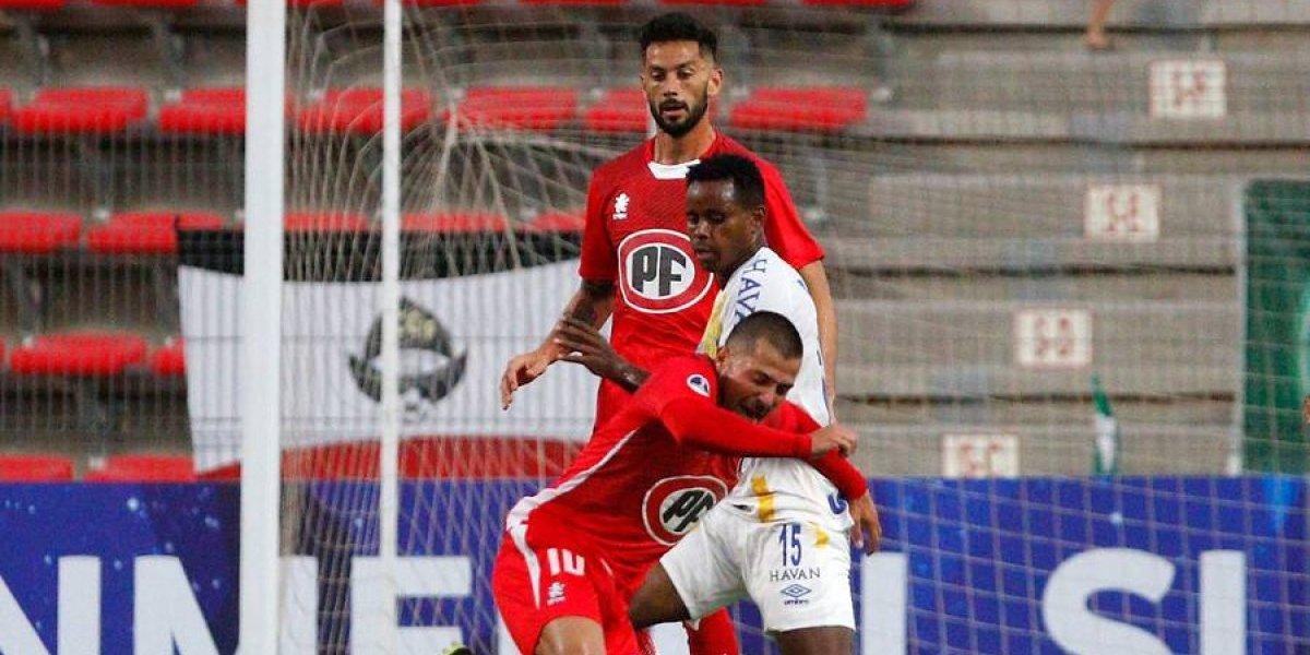 La Calera empató con un timorato Chapecoense en su estreno en la Copa Sudamericana