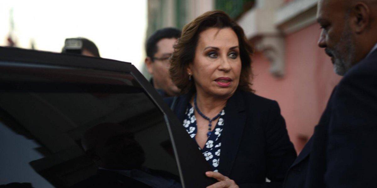 MP pide retiro de inmunidad de Sandra Torres