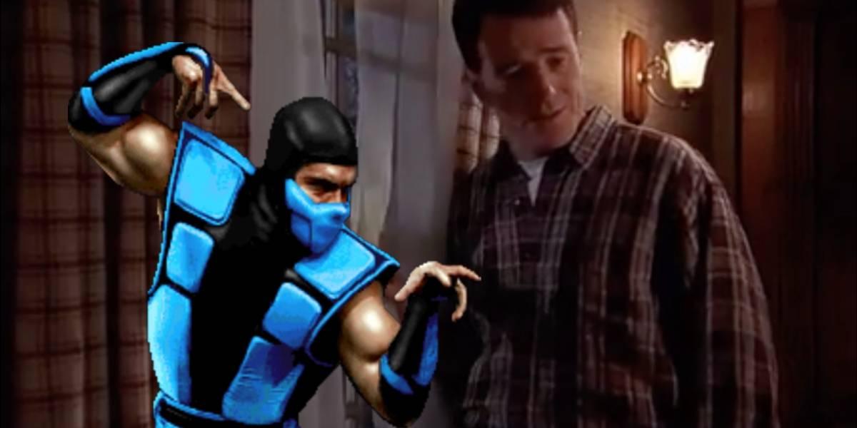 """Mortal Kombat: A 19 años de """"Nadie vence a Sub-Zero"""" en Malcolm el de en Medio"""