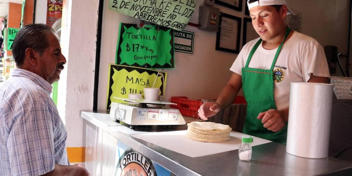 Kilo de tortilla sube casi 13% en el último mes