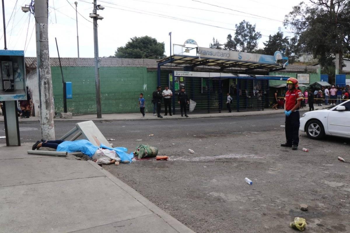Vendedora de comida es atacada a tiros en la colonia el Paraíso II, en la zona 18