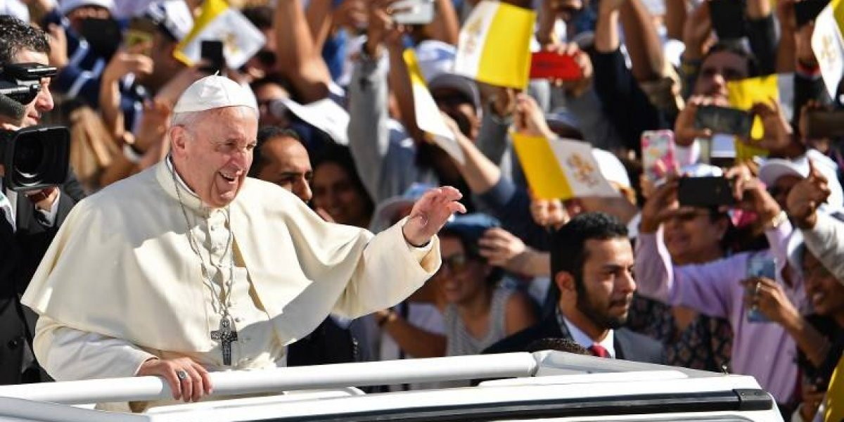 VIDEO. Así fue la histórica misa del papa Francisco en Emiratos Árabes