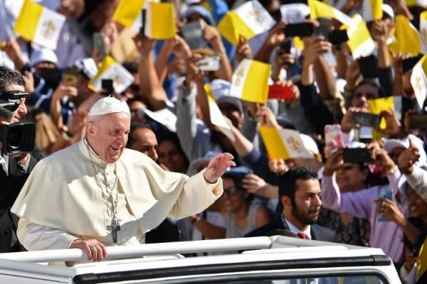 Papa Francisco en Emiratos Árabes Unidos