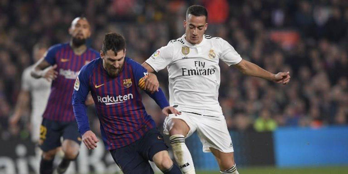 El Barcelona y el Real Madrid definirán el pase a la final de la Copa en la vuelta