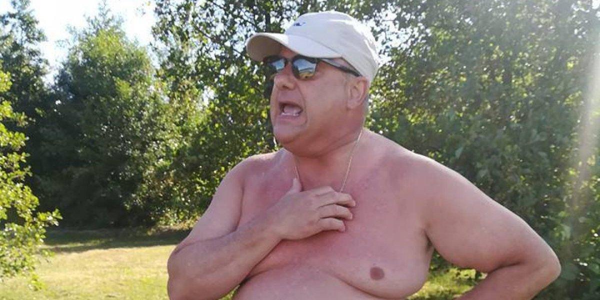 """""""Ustedes se me van a ir"""": denuncian prepotente actuar del presidente de Gasco al echar veraneantes a orillas del Lago Ranco"""