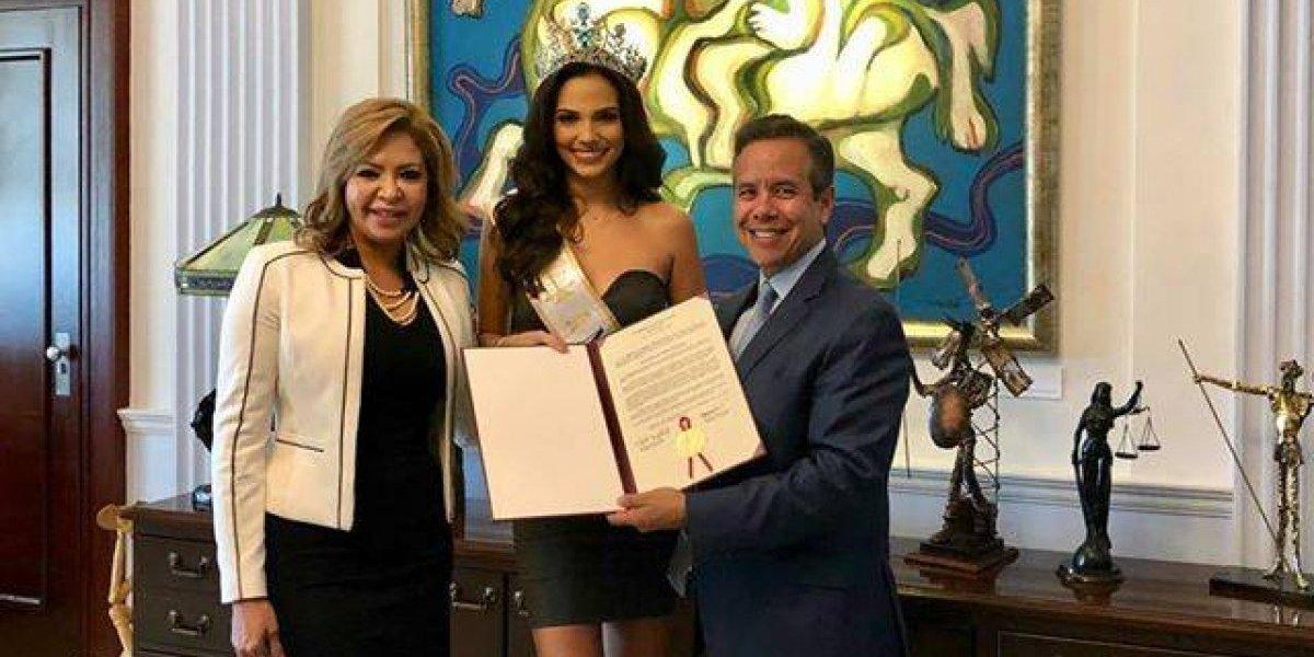 Reconocen a Valeria Vázquez en el Senado
