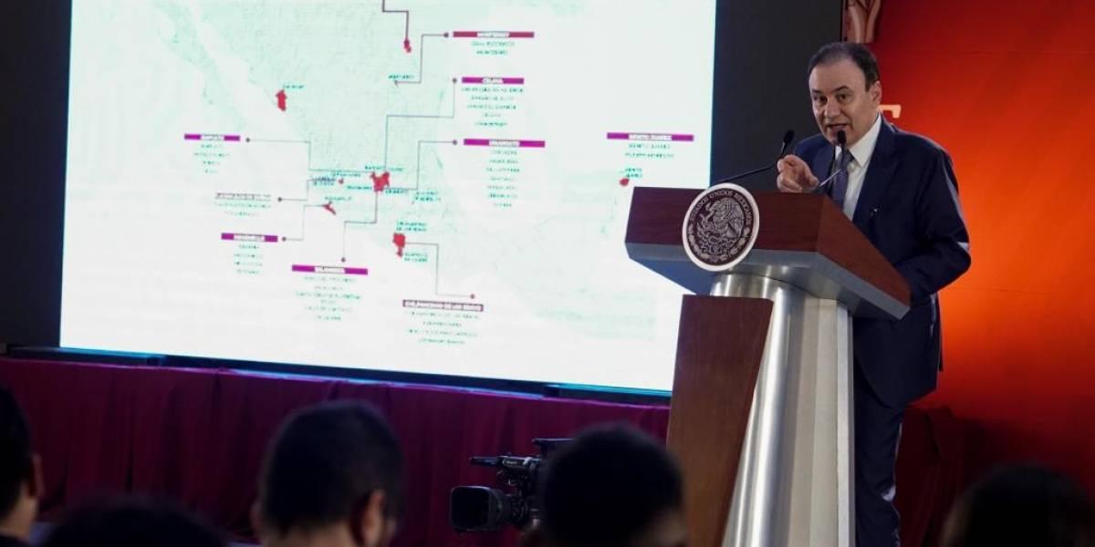 Sumarán 10 mil elementos de seguridad a 17 regiones prioritarias