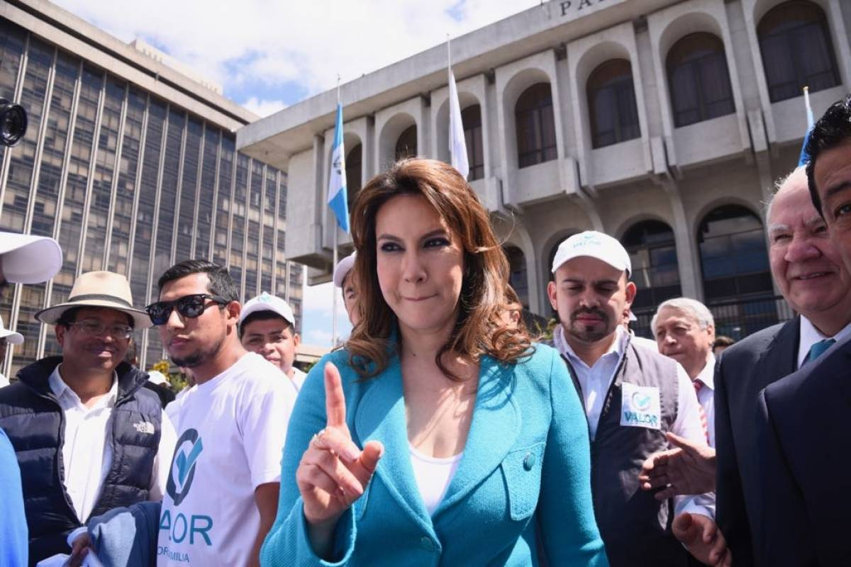 Zury Ríos Foto: Omar Solís