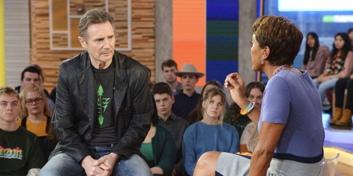 """Cancelan alfombra roja de película de Liam Neeson tras haber afirmado que quería """"matar"""" a un hombre negro"""