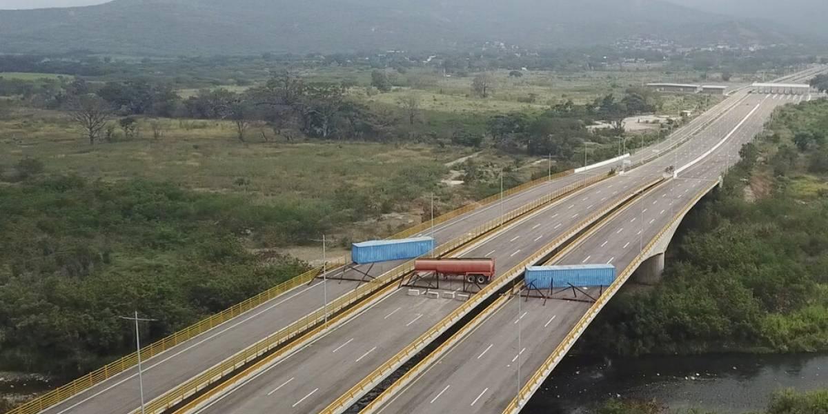 Intentan bloquear ingreso de ayuda humanitaria en Venezuela