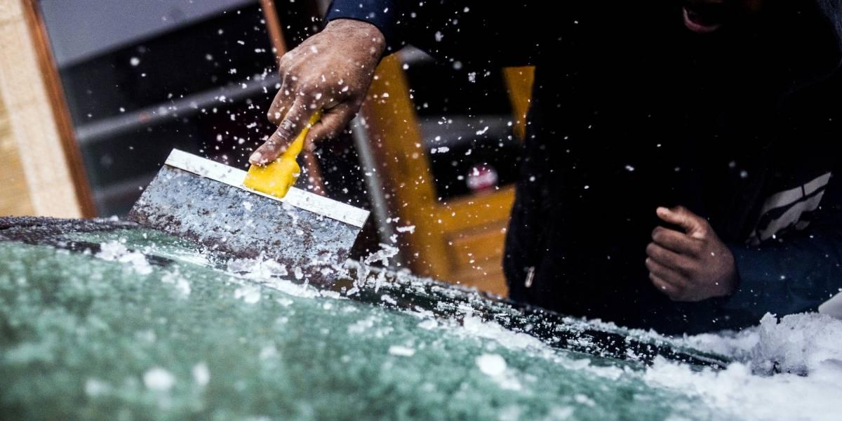 Lluvia helada, apagones y caminos resbalosos en Estados Unidos