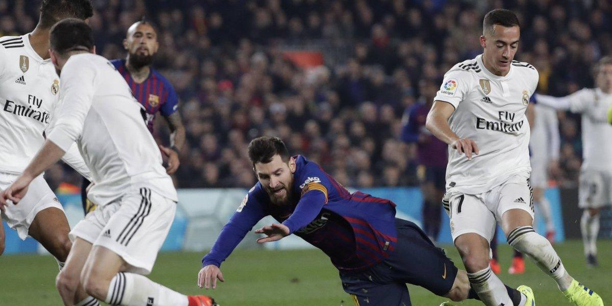 Barcelona de Vidal reaccionó tarde y no pudo con el Real Madrid en un partidazo por la Copa del Rey