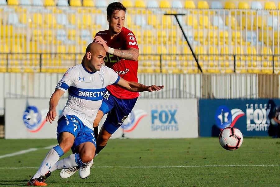 Sebastián Sáez recién podría reaparecer en la UC en la segunda fecha del Campeonato, ante Iquique en San Carlos / Foto: Agencia UNO