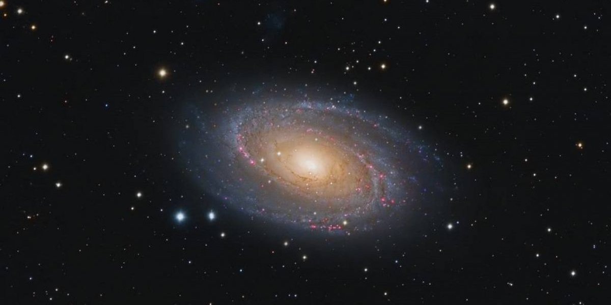 Captan espectacular foto de una galaxia desde Isabela