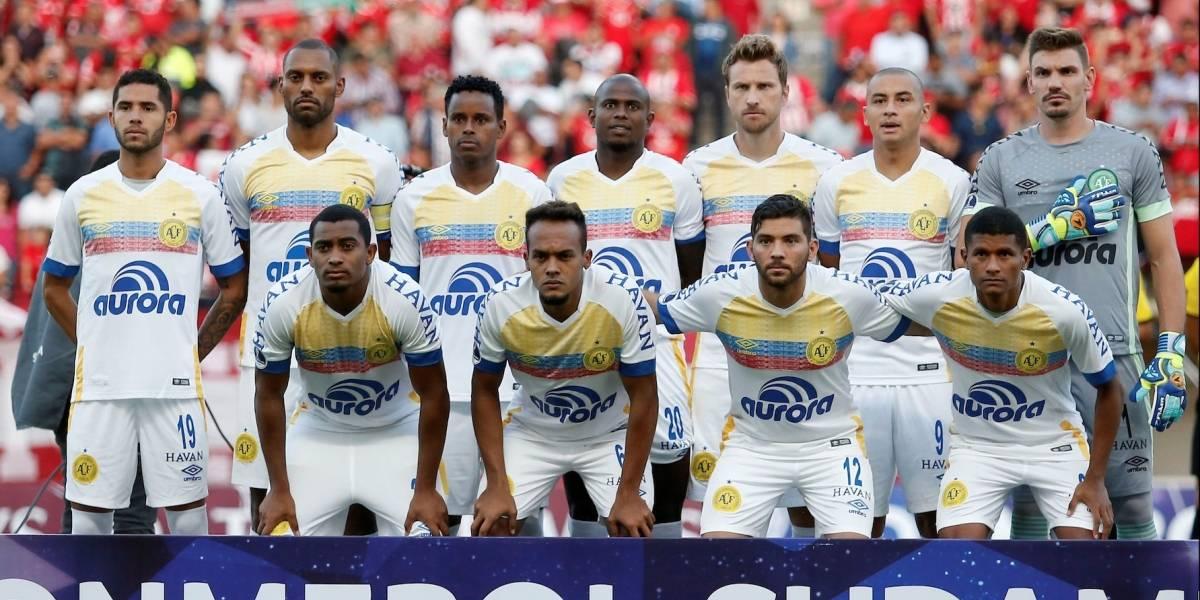 ¡Tremendo gesto! Chapecoense homenajeó a Colombia en su debut en Copa Sudamericana