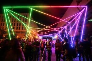 Festival de luz en Guadalajara