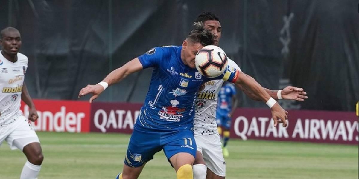 Copa Libertadores: Delfín empata 1-1 ante Caracas en el Jocay de Manta