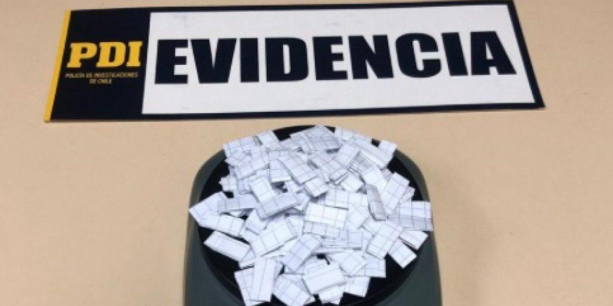 Comisión de la PDI desmanteló banda de microtráfico de drogas en Santiago Centro