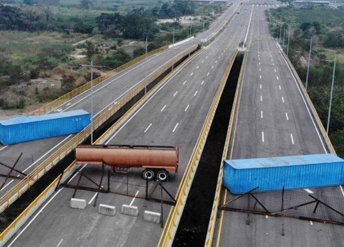 Puente bloqueado