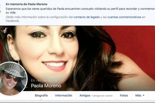 Facebook paola Moreno
