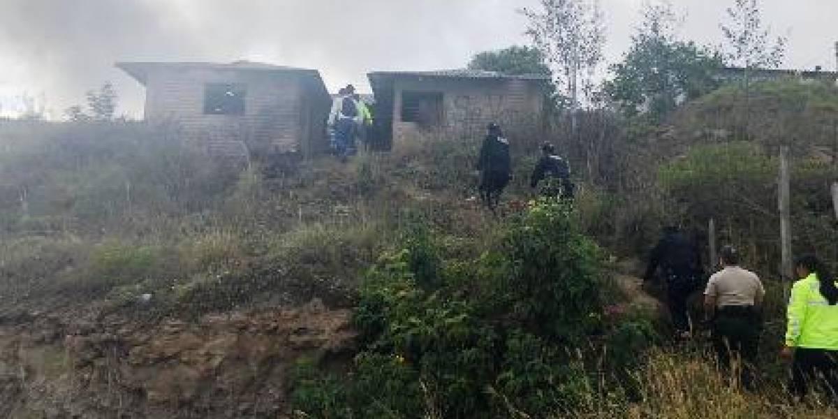Policía Nacional: Casa abandonada servía de guarida para consumir sustancias ilegales