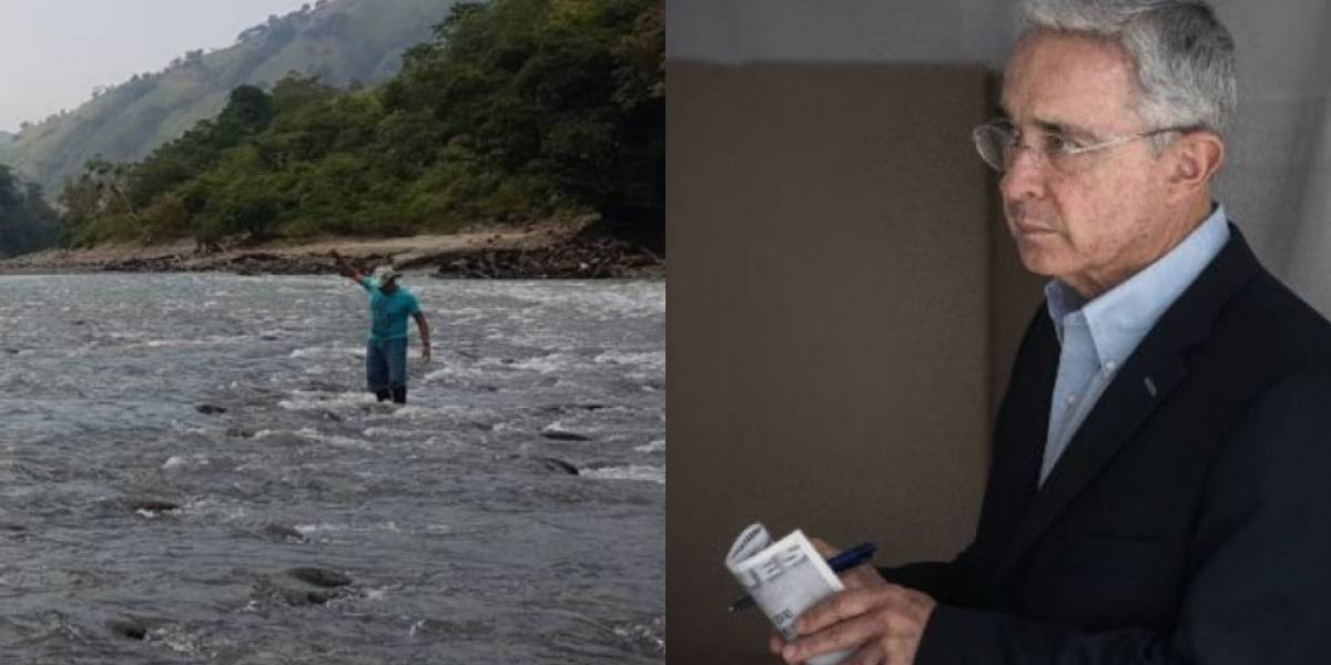 "Indignante tuit de Álvaro Uribe para sacar ""provecho"" a la crisis de Hidroituango"