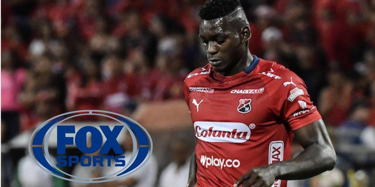 FOX Sports presentó a su nuevo narrador en el partido del Medellín