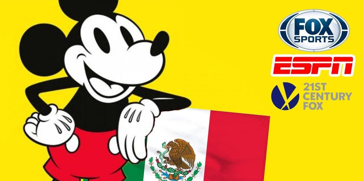 Futbol elevaría precios de TV por cable tras la fusión de Disney y Fox en México
