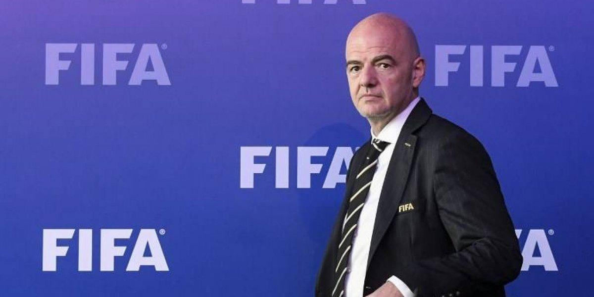 Infantino, único candidato a su sucesión en junio como presidente de FIFA