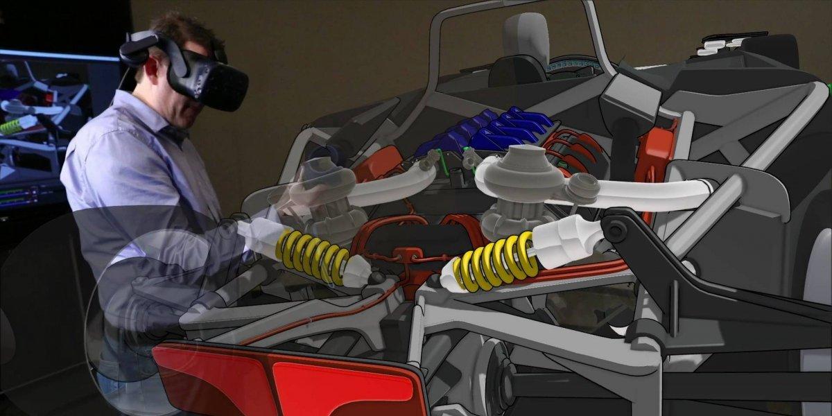 Ford colabora con herramienta de realidad virtual para diseño de autos