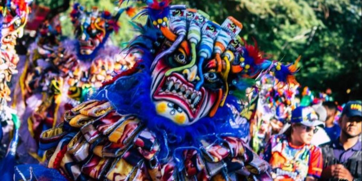 Fundación Los Broncos de La Vega presentó disfraz artístico