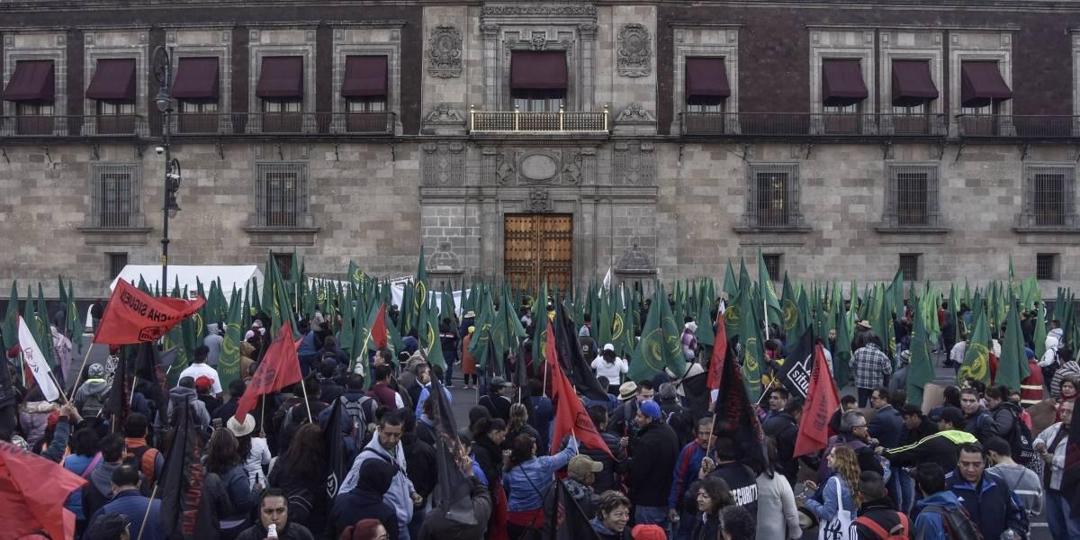 Al menos cuatro manifestaciones afectarían vialidades capitalinas