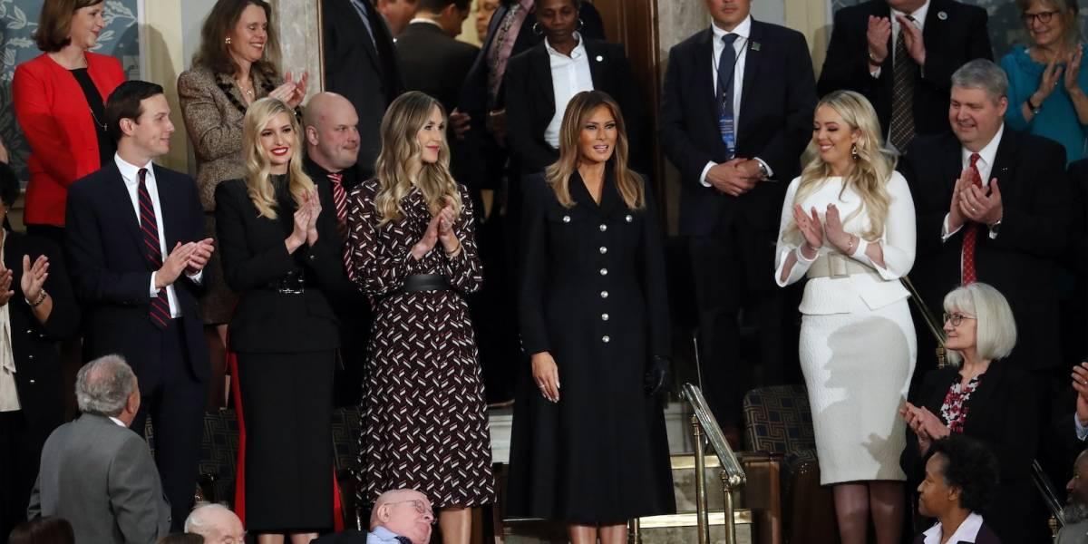 Melania Trump protagonizó su primera aparición pública desde diciembre